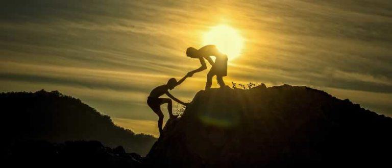 getting help climbing hill...avoid burnout
