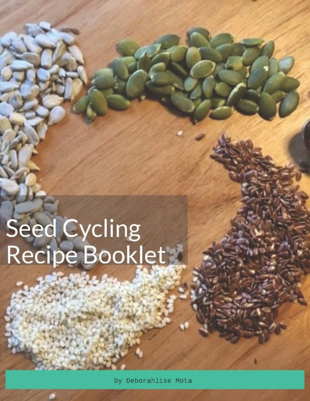 Seed Cycling Recipe Booklet Cover